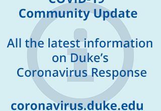 Duke's Coronavirus response image
