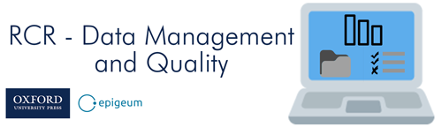 RCR-Data Management and Quality